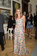 Katherine Jenkins OBE, Royal Academy Summer exhibition party. Piccadilly. 7 June 2016