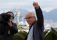 Director Ken Loach at Sorry We Missed You film photo call at the 72nd Cannes Film Festival, Friday 17th May 2019, Cannes, France. Photo credit: Doreen Kennedy