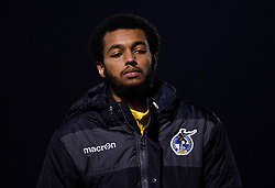 Josh Grant of Bristol Rovers after the final whistle of the match  - Mandatory by-line: Ryan Hiscott/JMP - 12/01/2021 - FOOTBALL - Memorial Stadium - Bristol, England - Bristol Rovers v AFC Wimbledon - Papa John's Trophy