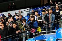 20120128: MADRID, SPAIN - Santiago bernabeu Stadium. Madrid. Spain. Football match between Real Madrid CF and  Real Zaragoza. BBVA League. In picture Real Madrid fans<br /> PHOTO: CITYFILES