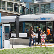 Photography at Union Station and Science City on opening weekend of the KC Streetcar Line.
