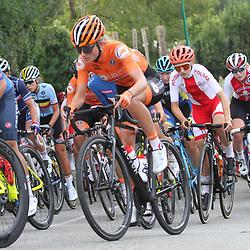 26-08-2020: Wielrennen: EK wielrennen: Plouay<br /> Karlijn Swinkels (Netherlands / Team Parkhotel Valkenburg)26-08-2020: Wielrennen: EK wielrennen: Plouay