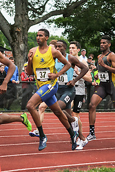 mens 800 meters section 2, Adrian Martinez Track Classic 2016