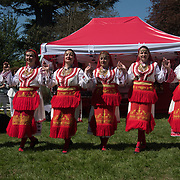 Organization Bulgarian Folk Tradition and Culture for the 7th annual Folk Festival! with food and drinks music and dancing on 5 May 2018 at Forty Hill, Enfield, London, UK.