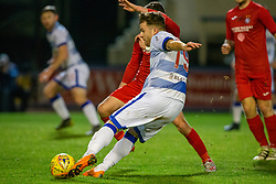Morton's Nicky Cadden. Morton 1 v 1 Brora Rangers, 3rd Round of the Scottish Cup played 23/11/2019 at Cappielow, Greenock.