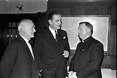 1963 - Limerickmens Association Annual Dinner at the Clarence Hotel, Dublin