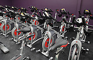 Monroe, New York - Exercise bikes at the South Orange Family YMCA on Friday, Feb. 4, 2011.