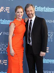 Leslie Mann, Judd Apatow, The 22nd Annual Critics Choice Awards at Barker Hangar (Santa Monica, CA.)