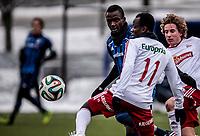 Fotball<br /> Tippeligaen Treningskamp<br /> Nadderud .13.04.14.15<br /> Stabæk - Fredrikstad<br /> Kamal Issah<br /> <br /> <br /> Foto: Eirik Førde