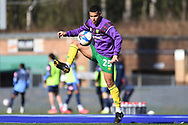 Norwich City midfielder Onel Hernandez (25) during the EFL Sky Bet Championship match between Wycombe Wanderers and Norwich City at Adams Park, High Wycombe, England on 28 February 2021.