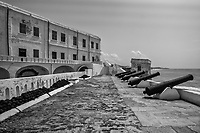 Row of Cannons & Cannonballs