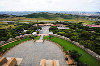 View from the Voortrekker Monument, situated in Pretoria, South Africa.