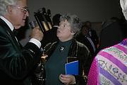 A.S.BYATT, Drinks Reception before the Man Booker Prize 2006. Guildhall, Gresham Street, London, EC2, 10 October 2006. -DO NOT ARCHIVE-© Copyright Photograph by Dafydd Jones 66 Stockwell Park Rd. London SW9 0DA Tel 020 7733 0108 www.dafjones.com