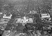 0303-01. aerial view of the Capitol. 1920s. Washington DC.