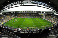 ILLUSTRATION - Stade GEOFFROY GUICHARD - 18.04.2015 - Clermont / Saracens - 1/2Finale European Champions Cup<br />Photo : Jean Paul Thomas / Icon Sport