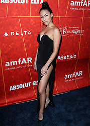 BEVERLY HILLS, LOS ANGELES, CA, USA - OCTOBER 18: amfAR Gala Los Angeles 2018 held at the Wallis Annenberg Center for the Performing Arts on October 18, 2018 in Beverly Hills, Los Angeles, California, United States. 18 Oct 2018 Pictured: Stephanie Shepherd. Photo credit: Xavier Collin/Image Press Agency/MEGA TheMegaAgency.com +1 888 505 6342