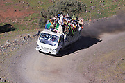 Africa, Ethiopia, Simien mountains local transport