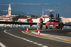 Jan Tratnik during Slovenia Road Cycling Championship Time Trial 202, on June 17, 2021 in Koper, Slovenia. Photo by Grega Valancic / Sportida.