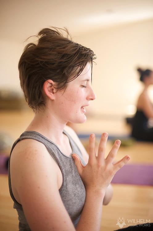 26 APR 2009: A Yoga Retreat hosted by Valerie DAmbrosio and Lauren Gennett held at the 63rd Street Farm in Boulder, CO. ©2009 Brett Wilhelm/Brett Wilhelm Photography