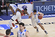 DESCRIZIONE : Eurocup 2015-2016 Last 32 Group N Dinamo Banco di Sardegna Sassari - Cai Zaragoza<br /> GIOCATORE : Rok Stipcevic<br /> CATEGORIA : Palleggio Penetrazione Blocco<br /> SQUADRA : Dinamo Banco di Sardegna Sassari<br /> EVENTO : Eurocup 2015-2016<br /> GARA : Dinamo Banco di Sardegna Sassari - Cai Zaragoza<br /> DATA : 27/01/2016<br /> SPORT : Pallacanestro <br /> AUTORE : Agenzia Ciamillo-Castoria/L.Canu