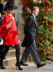 Guy Pelly after the wedding of Princess Eugenie to Jack Brooksbank at St George's Chapel in Windsor Castle.