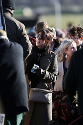 Former Prime Minister David Cameron's wife Samantha attends the Cocklebarrow races near Chippenham in Wiltshire.