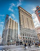 The Flatiron Building, originally the Fuller Building, Manhattan