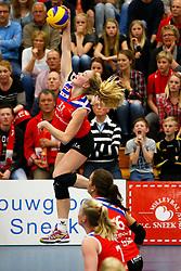 20150425 NED: Eredivisie VC Sneek - Eurosped, Sneek<br />Roos van Wijnen (11) of VC Sneek<br />©2015-FotoHoogendoorn.nl / Pim Waslander