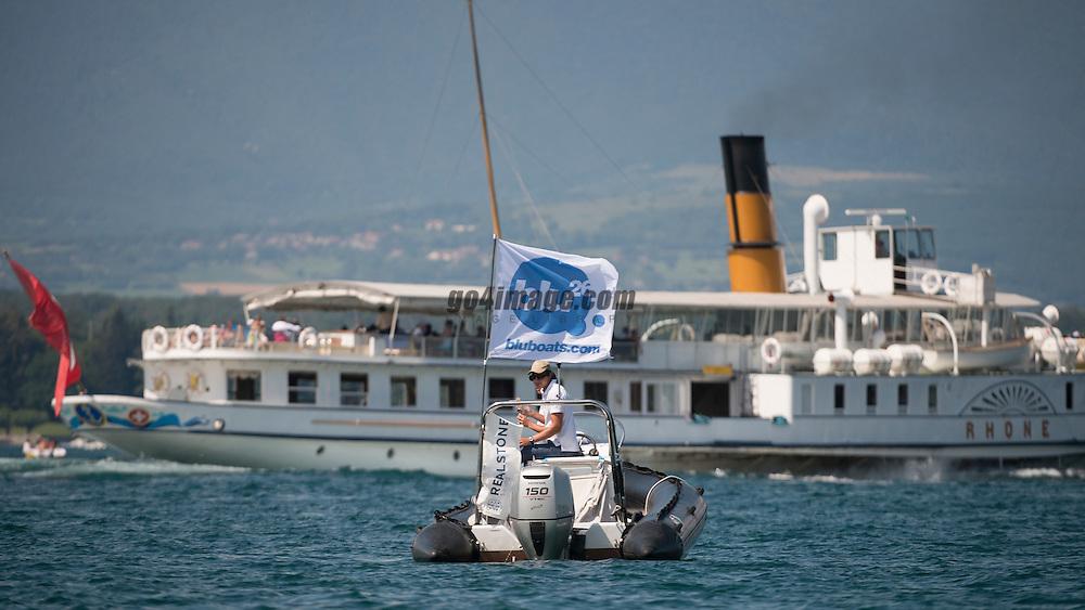 Geneva, August 2013 Volvo Match Race Cup Final