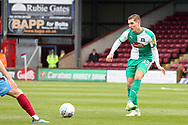 Plymouth Argyll midfielder Conor Grant (15) plays a pass  during the EFL Sky Bet League 1 match between Scunthorpe United and Plymouth Argyle at Glanford Park, Scunthorpe, England on 27 October 2018. Pic Mick Atkins