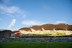 January 13, 2019 - Melbourne, VIC, U.S. - MELBOURNE, VIC - JANUARY 11: A general view at the Hyundai A-League Round 13 soccer match between Melbourne City FC and Brisbane Roar FC at AAMI Park in VIC, Australia 11th January 2019. (Photo by Speed Media/Icon Sportswire) (Credit Image: © Speed Media/Icon SMI via ZUMA Press)