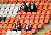 Blackpool fans enjoy the pre-match atmosphere<br /> <br /> Photographer Kevin Barnes/CameraSport<br /> <br /> The EFL Sky Bet Championship - Blackpool v Peterborough United - Saturday 2nd November 2019 - Bloomfield Road - Blackpool<br /> <br /> World Copyright © 2019 CameraSport. All rights reserved. 43 Linden Ave. Countesthorpe. Leicester. England. LE8 5PG - Tel: +44 (0) 116 277 4147 - admin@camerasport.com - www.camerasport.com