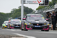 #66 Josh Cook BTC Racing Honda Civic Type R FK8  during BTCC Rounds 13,14 and 15 at Oulton Park, Little Budworth, Cheshire, United Kingdom. June 29 2019. World Copyright Peter Taylor/PSP. Copy of publication required for printed pictures.