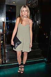 KARA ROSE MARSHALL at a party to celebrate the UK launch of French fashion label ba&sh at The Arts Club, Dover Street, London on 15th March 2016.