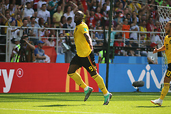 June 23, 2018 - Moscow, Russia - June 23, 2018, Russia, Moscow, FIFA World Cup 2018, First Round, Group, Second Round, Belgium - Tunisia at the Opening Stadium, Spartak Arena. Player of the national team Romelu Lukaku. (Credit Image: © Russian Look via ZUMA Wire)