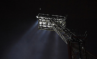 A floodlight at the Hawthorns, home of West Bromwich Albion<br /> <br /> Photographer Dave Howarth/CameraSport<br /> <br /> The Premier League - West Bromwich Albion v Burnley - Monday 21st November 2016 - The Hawthorns - West Bromwich<br /> <br /> World Copyright © 2016 CameraSport. All rights reserved. 43 Linden Ave. Countesthorpe. Leicester. England. LE8 5PG - Tel: +44 (0) 116 277 4147 - admin@camerasport.com - www.camerasport.com