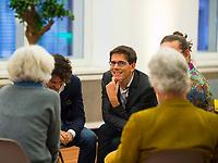 DEU, Deutschland, Germany, Berlin, 23.11.2018: Bas Eickhout, MEP, nominated by GroenLinks (The Netherlands). Council of the European Green Party (EGP council) at Deutsche Telekom Representative Office.