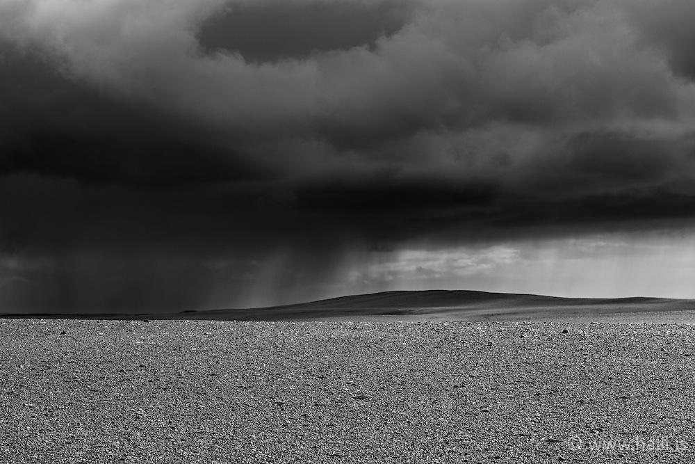 Weather changes on the way to Sprengisandur, highlands Iceland - Veðrabrigði á Sprengisandsleið