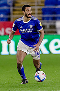 Cardiff City Curtis Nelson during the EFL Sky Bet Championship match between Cardiff City and Queens Park Rangers at the Cardiff City Stadium, Cardiff, Wales on 20 January 2021.