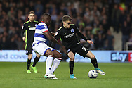 Brighton & Hove Albion striker Solly March (20) during the EFL Sky Bet Championship match between Queens Park Rangers and Brighton and Hove Albion at the Loftus Road Stadium, London, England on 7 April 2017.