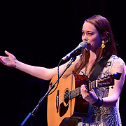 Sara Harosz performs in the 2013 Portsmouth Singer Songwriter Festival at The Music Hall in Portsmouth, NH, on April 20, 2013