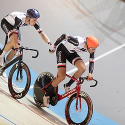 30-12-2018: Wielrennen: NK Baan: Apeldoorn<br />Jan Willem vna Schip, Cees Bol