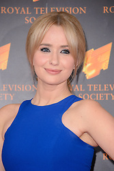 Sammy Winward attends the RTS Programme Awards. London, United Kingdom. Tuesday, 18th March 2014. Picture by Chris Joseph / i-Images