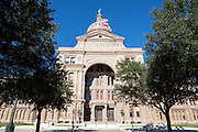 Austin is the state capital of Texas, and has the Capitol building based in its centre