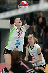 20190131 NED: Semi Final Cup Sliedrecht Sport - Eurosped, Sliedrecht <br />Charlotte Haar (2) of Team Eurosped Twente<br />©2019-FotoHoogendoorn.nl / Pim Waslander