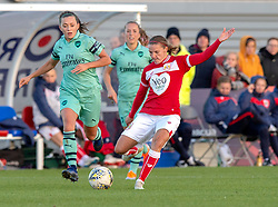 Loren Dykes of Bristol City - Mandatory by-line: Paul Knight/JMP - 28/10/2018 - FOOTBALL - Stoke Gifford Stadium - Bristol, England - Bristol City Women v Arsenal Women - FA Women's Super League