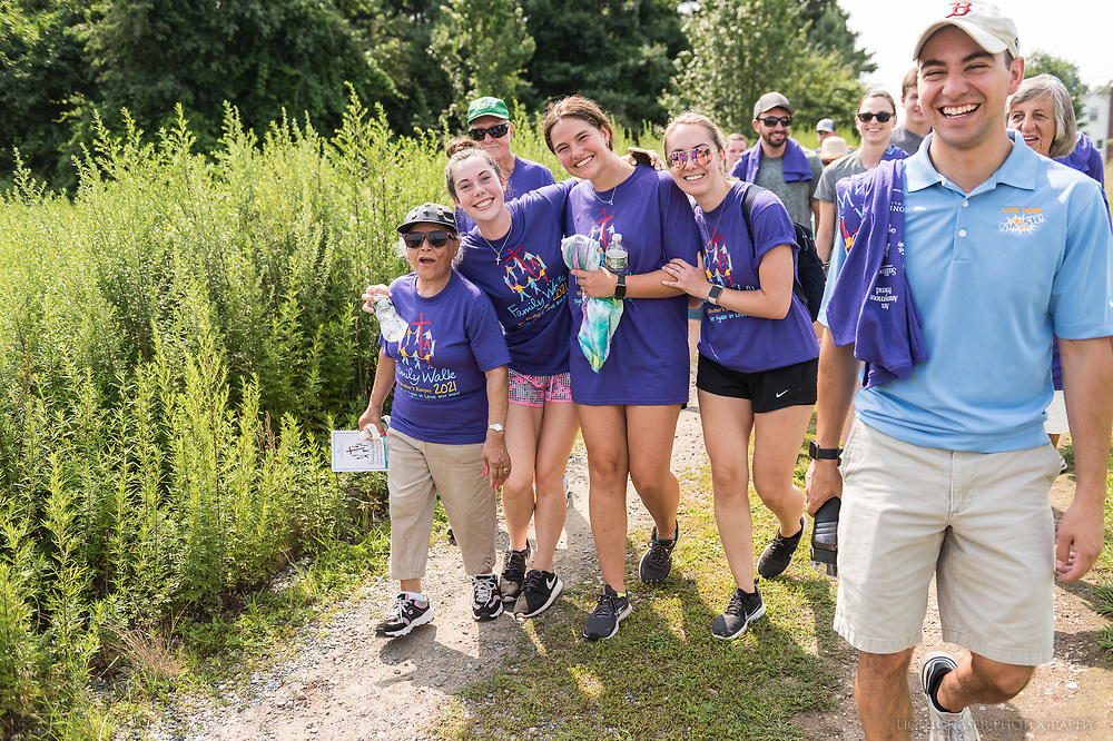 20210807, Saturday, August 7, 2021, North Easton, MA, USA – A multitude of the My Brother's Keeper extended family gathered together in North Easton on the campus of Stonehill College and walked part of the college's lush summertime grounds for their eleventh annual Family Walk to build community and celebrate their mission on a beautiful Saturday afternoon. <br /> At the finish of the fundraising walk music, food and amusements welcomed the entire ever-expanding My Brother's Keeper family.<br /> <br /> ( 2021 © lightchaser photography )