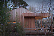 ecospace studios. sussex hideaway. garden room. wood.