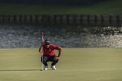 May 11, 2018 - Ponte Vedra Beach, Florida, USA - Adam Scott during Round 2 of The Players Championship at Sawgrass on May 11, 2018. (Credit Image: © Dalton Hamm/via ZUMA Wire via ZUMA Wire)