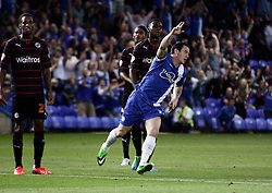 Peterborough United's Lee Tomlin celebrates scoring  - Photo mandatory by-line: Joe Dent/JMP - Tel: Mobile: 07966 386802 27/08/2013 - SPORT - FOOTBALL - London Road Stadium - Peterborough - Peterborough V Reading -  Capital One Cup - Round 2